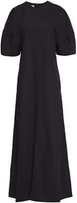 Co Flared Twill Maxi Dress
