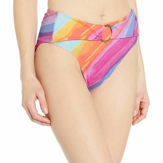 Rachel Roy Women's High Waist Ring Swim Bottom