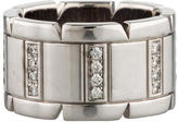 Cartier Diamond Tank Francaise Band