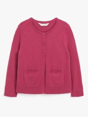 John Lewis & Partners Girls' Essential Cardigan