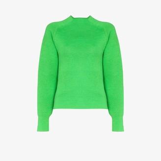 Carcel Milano turtleneck alpaca wool sweater