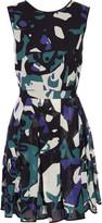 Missoni Printed woven silk-blend mini dress