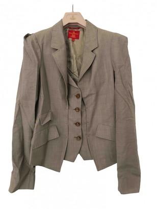 Vivienne Westwood Beige Wool Jackets
