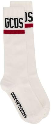 GCDS logo knit socks