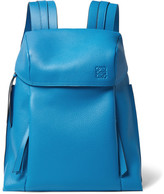 Loewe T Full-Grain Leather Backpack