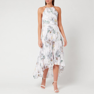 Ted Baker Women's Daniiey Woodland Pleated Maxi Dress