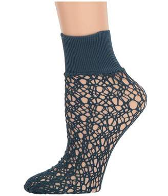 Wolford Micro Fish Scale Socks