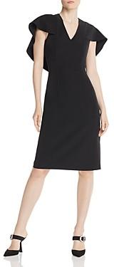 Nanette Lepore Nanette nanette Cape-Overlay Dress