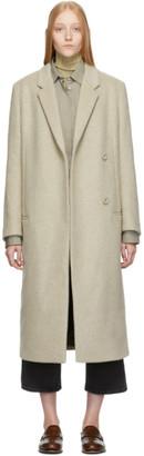 Totême Beige Wool Volterra Coat