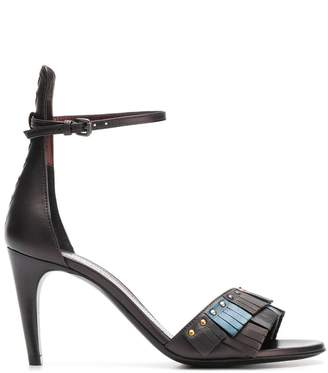 Bottega Veneta fringed sandals