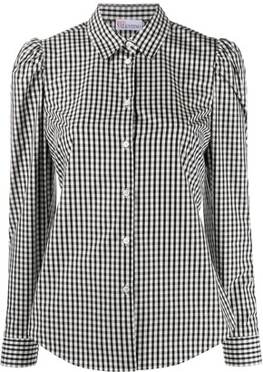 RED Valentino Gingham Check Shirt