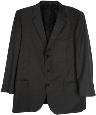 Christian Dior Anthracite Wool Jackets