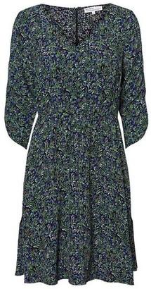 Vero Moda Vilma Dress Flower Print Black - S