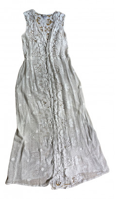 Miguelina White Cotton Dresses
