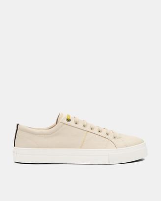 Ted Baker ESHRON Classic plimsoll sneakers