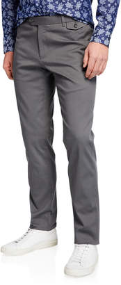 Joe's Jeans Men's Straight-Leg Cotton Pants with Buttoned Pockets