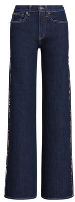 Ralph Lauren UltraStretch Wide-Leg Jean