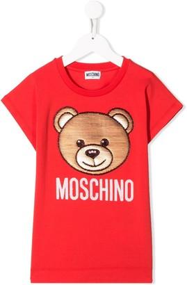 MOSCHINO BAMBINO Toy Bear T-shirt