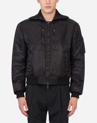 Dolce & Gabbana Wool And Satin Jacket