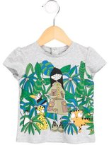 Little Marc Jacobs Girls' Graphic Short Sleeve T-Shirt