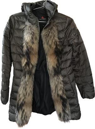 Peuterey Green Wool Coats
