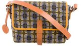 M Missoni Leather-Trimmed Jacquard Crossbody