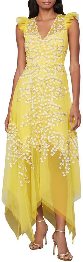 BCBGMAXAZRIA Sleeveless Handkerchief Dress