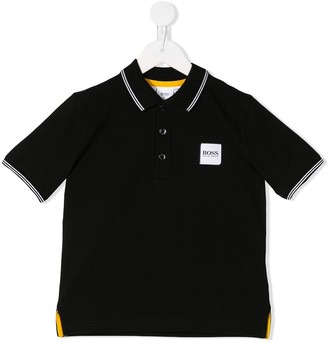 Boss Kids Logo Patch Polo Shirt