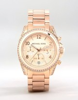 Michael Kors Blair MK5263 Rose Gold Chronograph Watch