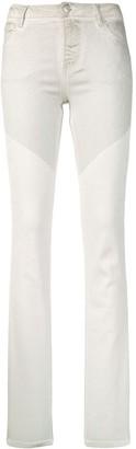 Zadig & Voltaire Two-Tone Skinny Jeans