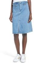 Levi's A-Line Denim Midi Skirt