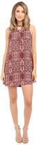 Brigitte Bailey Yvette Lace-Up Sleeveless Dress
