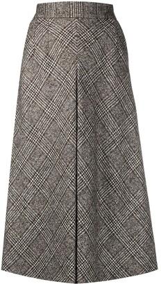 Dolce & Gabbana Glend plaid longuette skirt