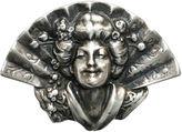 One Kings Lane Vintage Sterling Asian Figural Brooch