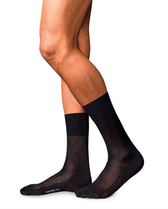 Falke Men's No. 4 Silk Sheer Dress Socks