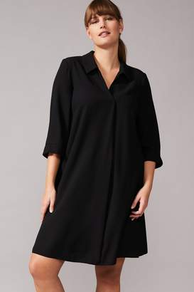 Studio 8 Womens Black Bette Swing Dress - Black