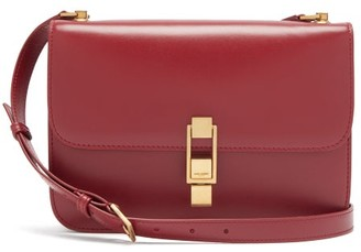Saint Laurent Le Carre Leather Cross-body Bag - Red