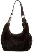 J. Mendel Brown Mink Hobo