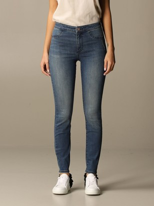 Armani Exchange Emporio Armani Jeans In Skinny Stretch Used Denim
