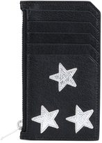 Saint Laurent 'Rider California' zip pouch - men - Buffalo Leather/Calf Leather - One Size