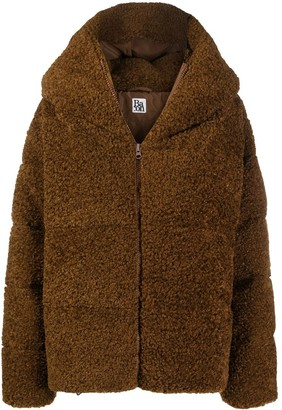 Bacon Faux-Shearling Puffer Jacket