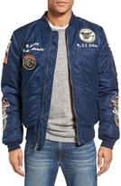 Schott NYC Men's Souvenir Ma-1 Flight Jacket