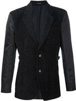 Alexander McQueen sparkle tweed blazer