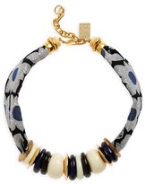 Lizzie Fortunato Women's Floral Kanga Necklace