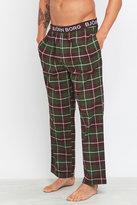 Björn Borg Green Check Pyjama Pants