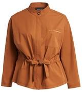 Thumbnail for your product : Lafayette 148 New York, Plus Size Jessa Stretch-Cotton Jacket