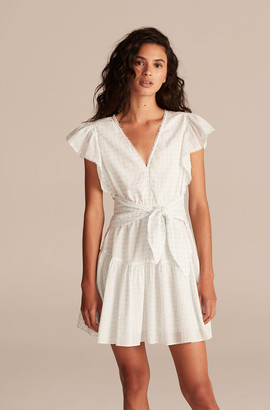 Rebecca Taylor La Vie Lidia Windowpane Dress