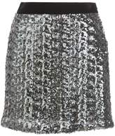 Milly embellished fitted skirt