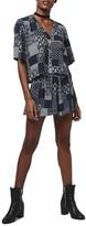 Topshop Bandana Print Shorts