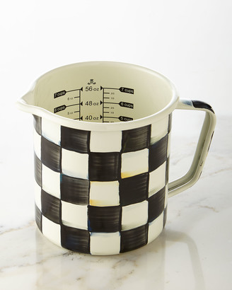 Mackenzie Childs Courtly Check Measuring Cup